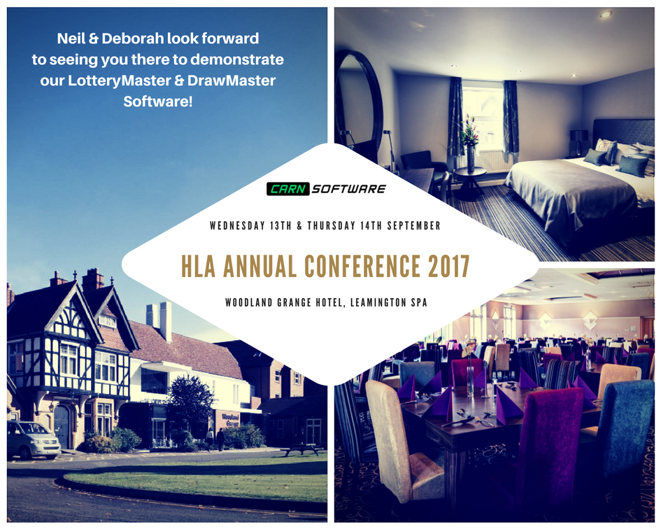 HLA Annual Conference, woodland Grange hotel, Leamington Spa